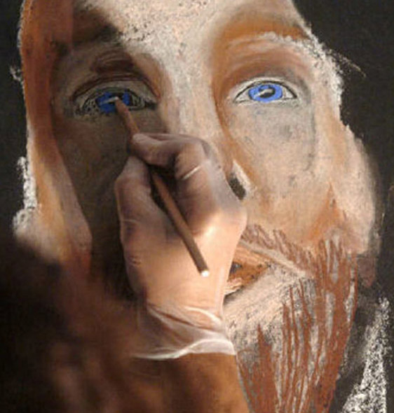 Mary Hilger Live Drawing Jesus