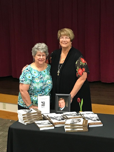 Mary and her editor, Kathy Clemmer