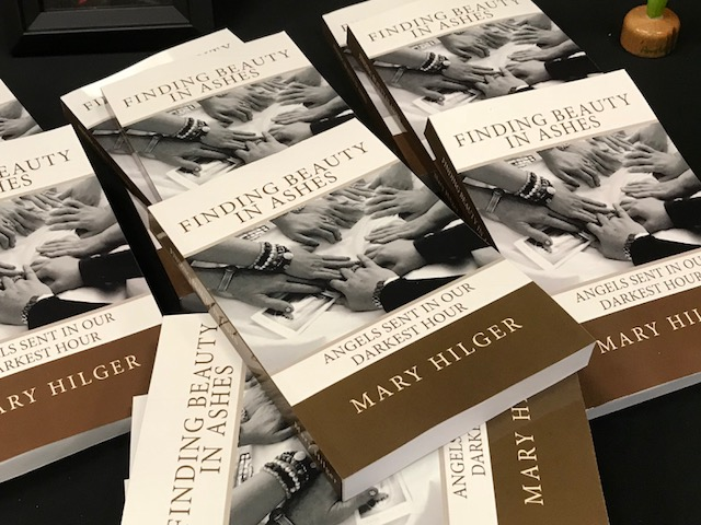 Copies of Finding Beauty in the Ashes by Mary Hilger